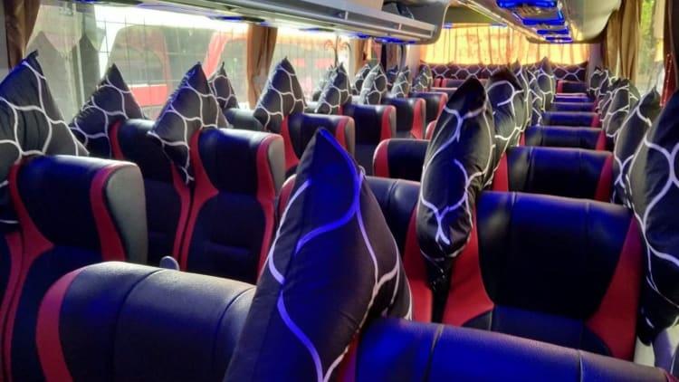 kenyamanan sewa bus jakarta